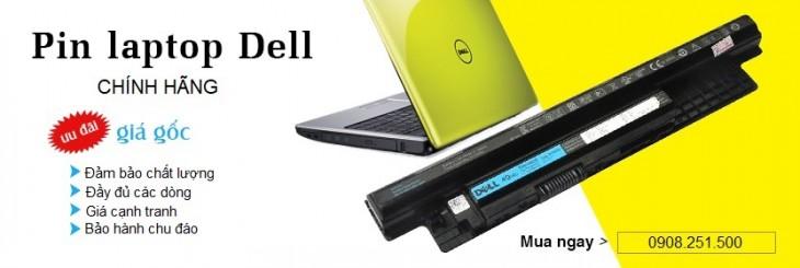 Thay pin laptop Dell Inspiron