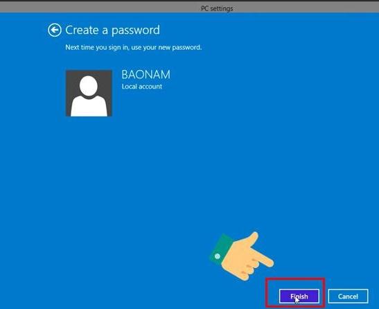 Cách cài đặt mật khẩu cho laptop đơn giản - 6