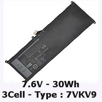 Pin Laptop Dell Latitude 12-7275  Mua Pin Dell 12-7275 ( 3Cell, 30Wh )