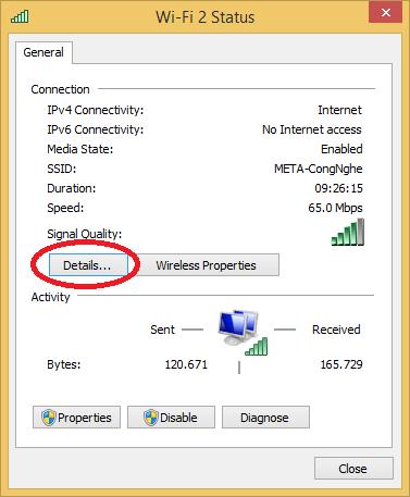 Hướng dẫn cách xác định ip máy tính chi tiết chính xác nhất - 4