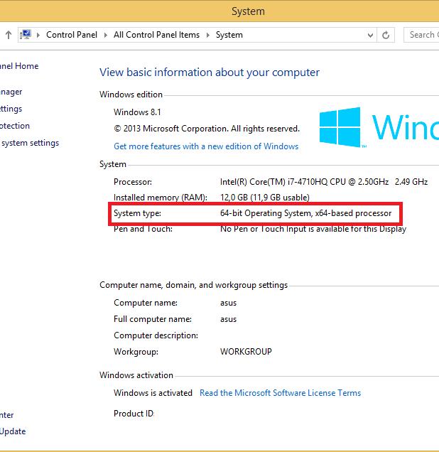 Những cách xem máy tính 32bit hay 64bit win xp chính xác nhất - 4