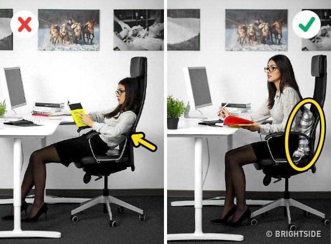 Những tư thế ngồi máy tính đúng cách bảo vệ sức khỏe - 2