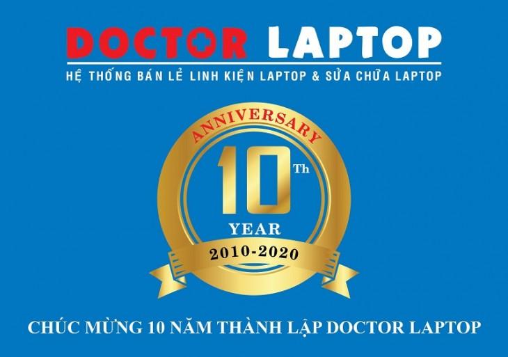 Doctorlaptop tri ân khách hàng dịp kỷ niệm 10 năm thành lập - 1