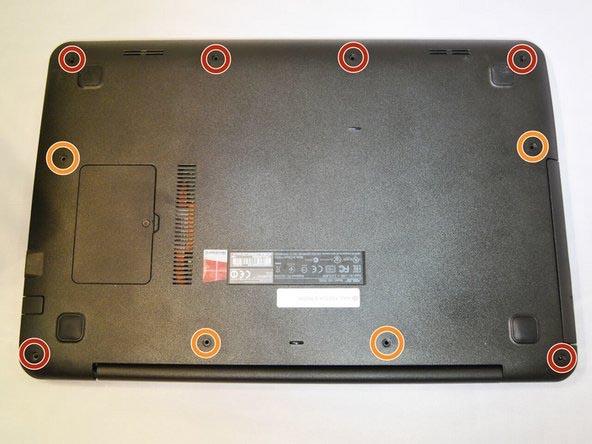Cách tháo pin laptop asus k455l x454l x455l f455l - 1