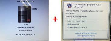 Hình nhận biết pin Laptop Asus X454L bi hư