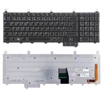Bàn phím Dell Alienware M17x, Thay bàn phím laptop Dell M17x