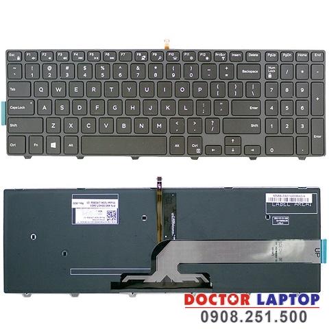 Bàn phím Dell Vostro 5568, Thay bàn phím laptop Dell 5568