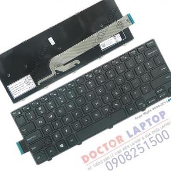 Bàn phím Dell Inspiron 3458, Thay bàn phím laptop Dell 3458