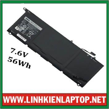 Pin Laptop Dell Xps 13-9350 90V7W ( 7.6V, 56Wh, Zin )