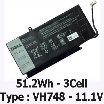 Pin Laptop Dell Inspiron 14-5439 Chính Hãng ( 11.1V, 51.2Wh )
