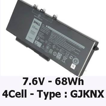 Pin Laptop Dell Latitude 5480 Chính Hãng ( 7.6V, 68Wh )