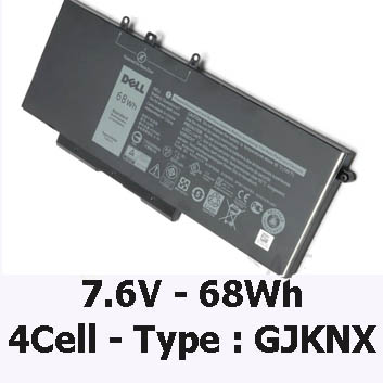 Pin Laptop Dell Precision 3520 Chính Hãng ( 7.6V, 68Wh )