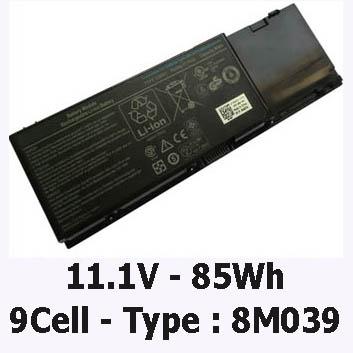 Pin Dell Precision M6400 - Zin
