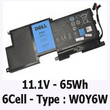 Pin Laptop Dell Xps 15-L521x Chính Hãng ( 11.1V, 65Wh )
