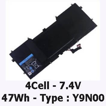 Pin Laptop Dell Xps L321X 13-L321X Chính Hãng ( 7.4V, 47Wh )