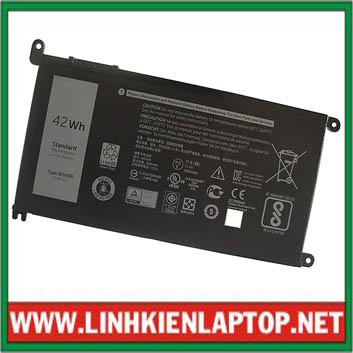 Pin Laptop Dell Inspiron 7560 - Chính Hãng ( 11.4V, 42Wh )