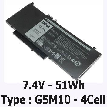 Pin Laptop Dell Latitude E5570 Chính Hãng ( 7.4V, 51Wh ) Tại Tphcm
