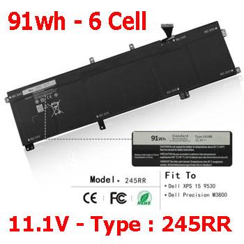 Pin Laptop Dell Precision M3800 - Chính Hãng