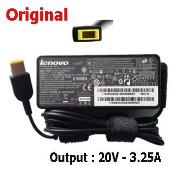 Sạc Lenovo 20V-3.25A đầu vuông