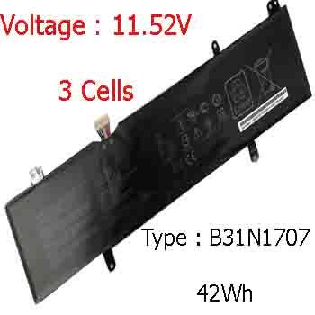 Pin Asus Vivobook X411U ( 11.52, 42Wh ) Chính Hãng Giá Rẻ | Mới 100% | Thay Pin Asus X411U X411UA X411 Bảo Hành 1 Đổi 1 | Ship Toàn Quốc.