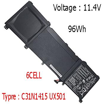 Pin Asus Zenbook UX501J UX501JW