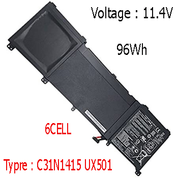 Pin Asus Zenbook UX501V UX501VW