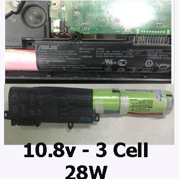 Pin Laptop Asus A541U A541UA A541 Chính Hãng  ( 11.25, 30Wh )