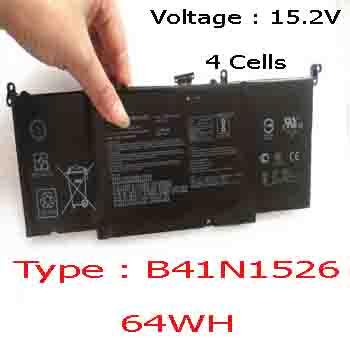 Pin Laptop Asus GL502V GL502VM GL502VS GL502VT  Chính Hãng  ( 15.2V, 64Wh )