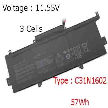 Pin Laptop Asus UX330U UX330UA UX330 Chính Hãng  ( 7.6V, 38Wh )