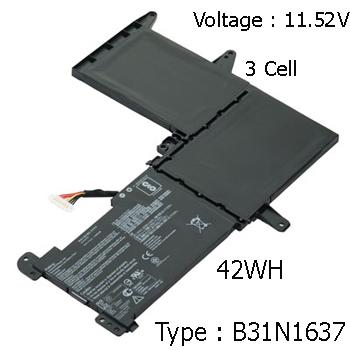 Pin Laptop Asus X510U X510UA X510UQ X510 Chính Hãng
