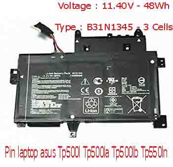 Pin Laptop Asus TP500L TP500LA TP500