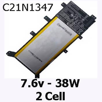 Pin Laptop Asus X455 X455L X455LA X455LAB Chính Hãng  ( 7.6V, 38Wh )