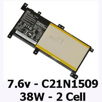 Pin Laptop Asus A556U A556UR A556UF Chính Hãng ( 7.6V, 38Wh )
