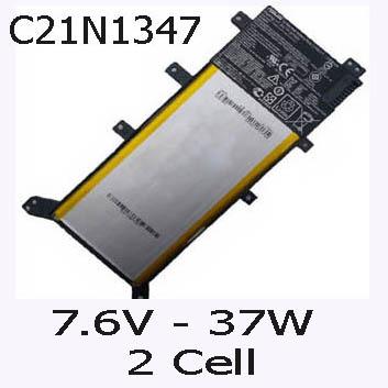 Pin Laptop Asus F555L F555LF F555 Chính Hãng 37Wh/7.6V/2Cells