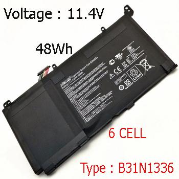 Pin Laptop Asus K551L
