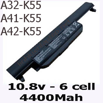 Pin Laptop Asus K55A K55 Chất Lượng Cao