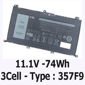 Pin Laptop Dell Vostro 5459 Chính Hãng ( 58Wh, 7.4V, D2VF9 )